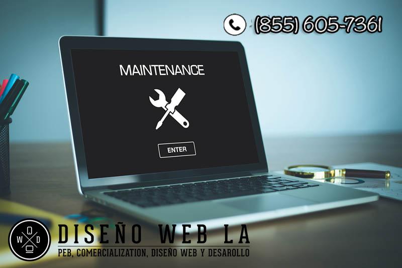 contrate a expertos para el mantenimiento de su sitio web
