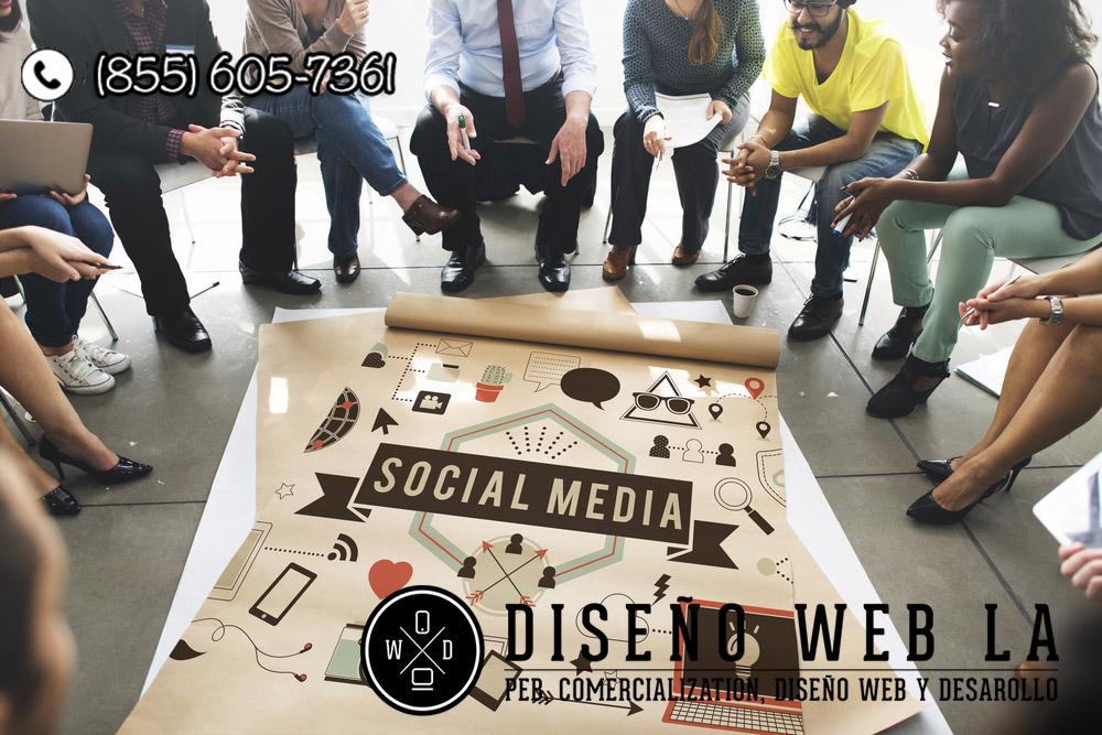 redes sociales en su empresa
